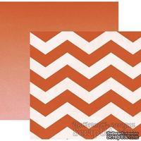Двусторонний лист бумаги от My Mind's Eye - Cut & Paste Collection by Jen Allyson, 30,5x30,5см