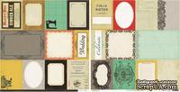 Лист скрапбумаги с картинками Crate Paper - Accent cuts Portrait, 30х30 см, двусторонняя