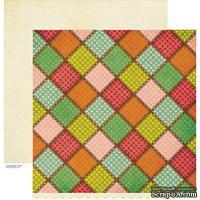 Лист скрапбумаги Crate Paper - FARMHOUSE HOMEMADE, 30х30 см, двусторонняя