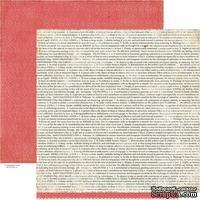 Лист скрапбумаги Crate Paper - PAPER HEART DEFINE, 30х30 см, двусторонняя