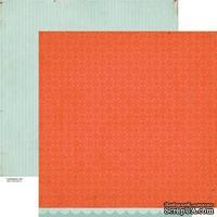 Лист скрапбумаги Crate Paper - Story Teller Trademark, 30х30 см, двусторонняя