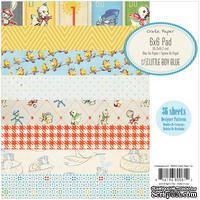 Набор бумаги Crate Paper - Baby Boy, 15х15 см, 36 листов