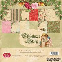 Набор скрапбумаги от Craft and You Design - Christmas Story,  30х30 см, CPB-CS30, 12 листов
