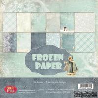 Набор скрапбумаги от Craft and You Design - Frozen Paper,  15х15 см, CPB-FP15, 36 листов
