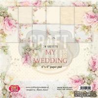 Набор скрапбумаги от Craft and You Design - My Wedding, 15х15 см, CPB-MW15, 36 листов