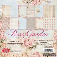 Набор скрапбумаги от Craft&You Design - ROSE GARDEN, 15,2×15,2, 36 шт