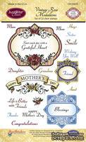 Акриловые штампы от JustRite - Vintage Rose Medallions - ScrapUA.com