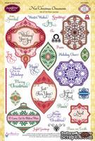 Акриловые штампы от JustRite - Noel Christmas Ornaments - ScrapUA.com