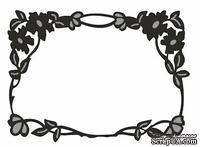 Лезвие Craftables Dies - Flower Border Rectangle