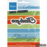Лезвие Marianne Design - Craftables Dies - Thank You