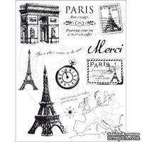 Набор акриловых штампов Marianne Design - Clear Stamps - Vintage Paris