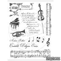 Набор акриловых штампов Marianne Design - Clear Stamps - Vintage Music
