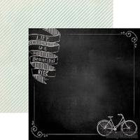Лист скрапбумаги My Mind's Eye Beautiful Ride, 30х30 см, двусторонняя