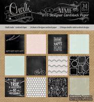 Набор бумаги от My Mind's Eye - Chalk Studio, 15x15 см