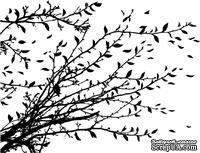 Резиновый штамп от Memory Box -  Windswept