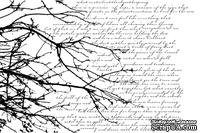 Резиновый штамп от Memory Box -  Skywriting