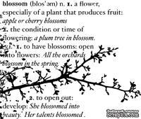 Резиновый штамп от Memory Box -  Blossom Branch