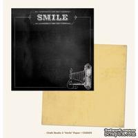 Лист скрапбумаги My Mind's Eye Smile, 30х30 см, двусторонняя