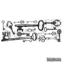 Акриловый штамп от Kaisercraft - Keys