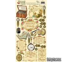Набор наклеек Crafty Secrets - Fond Recollections - Heartwarming Vintage Cardstock Stickers