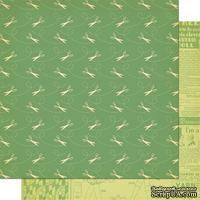Лист скрапбумаги Cosmo Cricket - SNIP SNIP - MATERIAL GIRL - 30х30 см, двусторонний