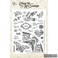 Акриловые штампы Crafty Secrets - Cupcake Party , 15х20 см