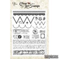 Акриловые штампы Crafty Secrets - Artsy Banner, 15х20 см