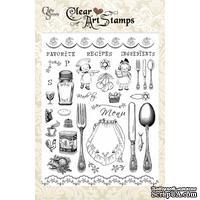 Акриловые штампы Crafty Secrets - Kitchen Classics, 15х20 см