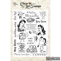 Акриловые штампы Crafty Secrets - Coffee & Tea, 15х20 см