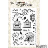 Акриловые штампы Crafty Secrets - Birdies At Home, 10х15 см - ScrapUA.com