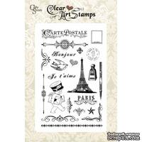 Акриловые штампы Crafty Secrets - French Mail, 10х15 см