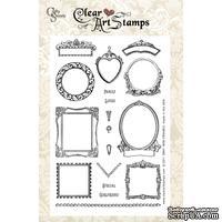 Акриловые штампы Crafty Secrets - Mini Frames, 10х15 см
