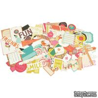 Высечки от Kaisercraft - Hopscotch Collectables Cardstock Die-Cuts, 50 шт.