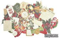 Набор высечек от Kaisercraft - DIE-CUTS -Yuletide Collection, 50 шт.