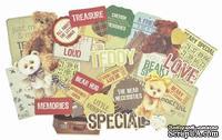 Набор высечек от Kaisercraft - Teddy Bears Picnic Collection - Collectables, 50 шт.