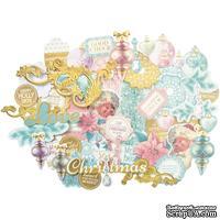 Набор высечек от Kaisercraft - Christmas Wishes, около 45 шт