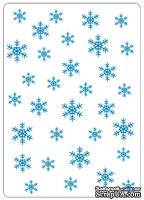 Папки для тиснения Crafts Too Embossing Folder -Snowflakes