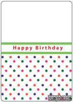 Папки для тиснения Crafts Too Embossing Folder -Happy Birthday