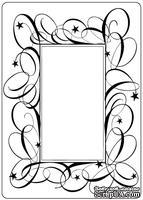Папки для тиснения Crafts Too Embossing Folder -Swirl Frame