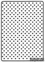 Папка для тиснения Crafts Too Embossing Folder - Hearts