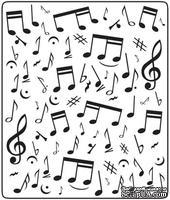 Папка для тиснения Crafts Too Embossing Folder - Music Notes