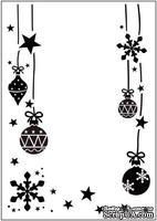 Папка для тиснения Crafts Too Embossing Folder - Christmas Ornaments