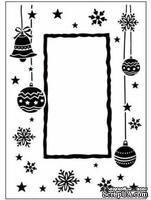 Папка для тиснения Crafts Too Embossing Folder - Christmas Frame