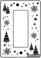 Папка для тиснения Crafts Too Embossing Folder - Let it Snow Frame