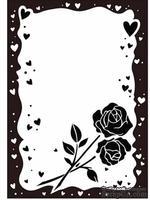 Папки для тиснения Crafts Too Embossing Folder -Rose & Heart Frame