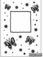 Папка для тиснения Crafts Too Embossing Folder - Butterfly Frame - ScrapUA.com