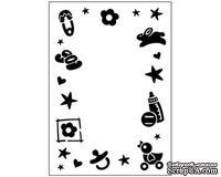 Папка для тиснения Crafts Too Embossing Folder - Baby Frame