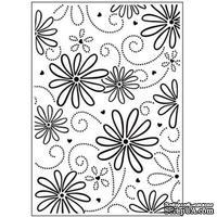 Папка для тиснения Crafts Too - Daisy & Swirl