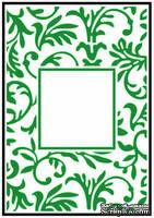 Папка для тиснения Crafts Too Embossing Folder - Floral Frame