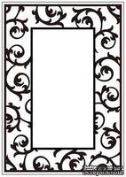 Папка для тиснения Crafts Too Embossing Folder - Scrollwork Frame